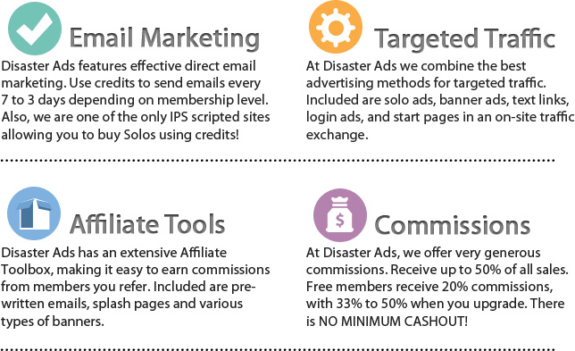 2012 Ads > Email Advertising > Affiliate Commissions > Promote Your Business